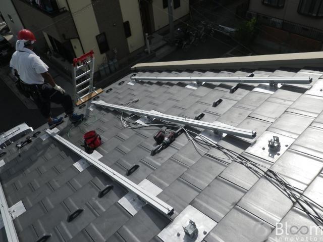 埼玉県草加市A様邸完工致しました(平板瓦)。