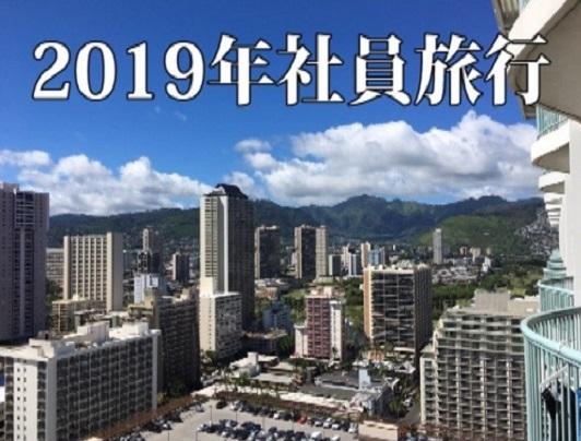 2019年社員旅行 ~inハワイ~(前編)